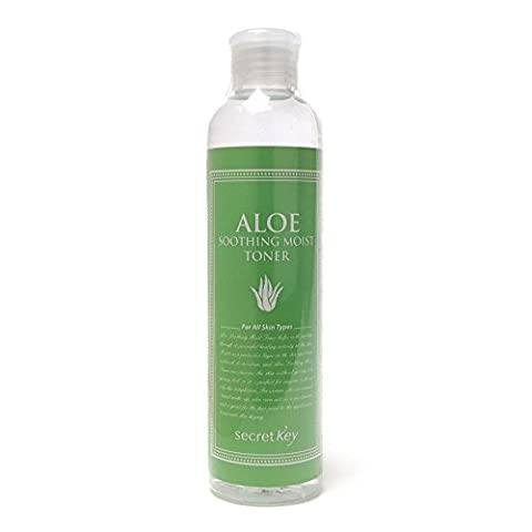 Secret Key Aloe Soothing Moist Toner 248ml Brand New