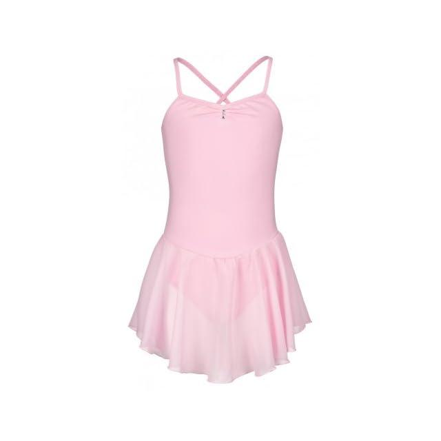 tanzmuster cache-coeur Mandy pour enfants - danse classique - rose ... 2a11e0aac86
