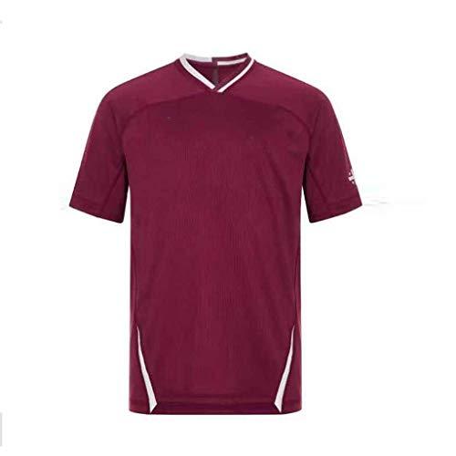 MINGDIAN Rugbykleidung World Cup Japanisches Herren-Trikot Mit Lässigem Sport-T-Shirt, V-Ausschnitt, Bequem Und Atmungsaktiv (Size : XL)