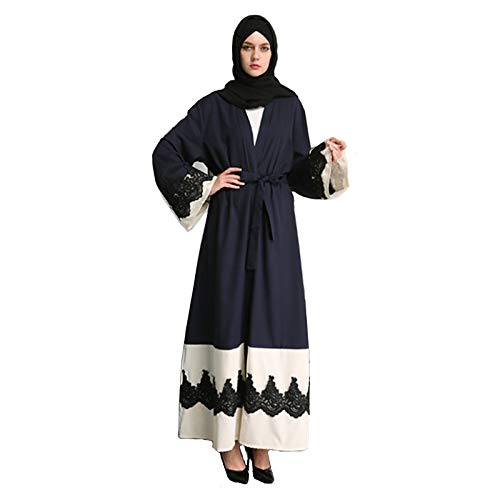 TIKEHAN Arabisches Kleid/Abaya Frauenfest/Urlaub Halloween Kostüme Blau Andere - Anderen Urlaub Kostüm