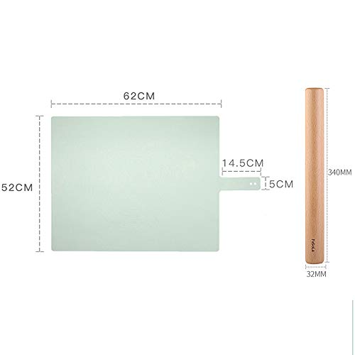 xgvvb Silikonmatte MatteLebensmittelqualität Panel Haushaltsbackenwerkzeugeolivgrün+großformatigen Zuckerrohr