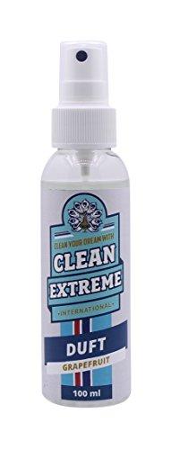 CLEANEXTREME Auto Lufterfrischer Duft Grapefruit 100 ml - entfernt Gerüche schnell und wirkungsvoll - Geruchsneutralisierer/Geruchsentferner