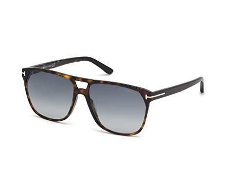Tom Ford FT0679 52W Dark Havana Shelton Square Sunglasses Lens Category 2 Size 59mm
