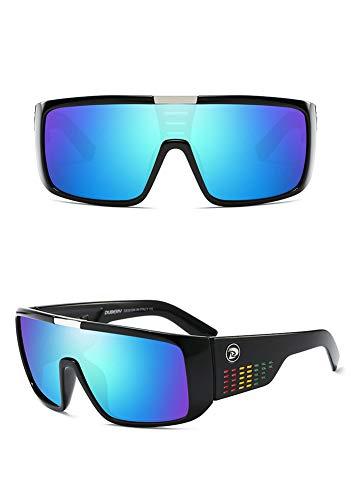 QA.SPG Sonnenbrille Men es Retro Male Goggles Sun Brillen for Men Fashion Brand Luxury Mirror Shades Oversized Oculos,H