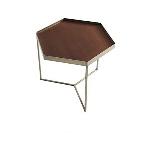 Nwn Nordic Minimalist Modern Industrial Wind Teetisch Wohnzimmer Telefon Tisch Mini Balkon Lagerregal (größe : Kleine)