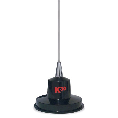 "K40 K-30 35"" 300 Watts Stainless Steel Magnet Mount CB Antenna"