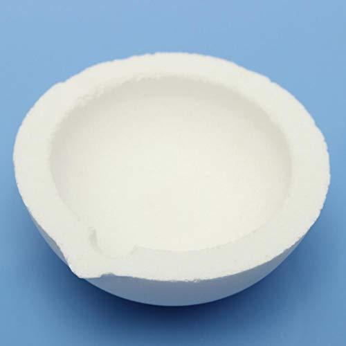 Yongse 150g Kapazität Quarzsiliciumdioxid Schmelztiegels Topf für Gold, Silber, Platin verfeinern