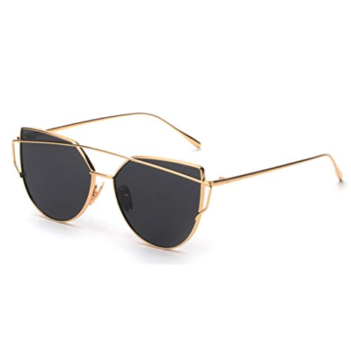 GAXUVI-Fashion-Twin-Beams-Classic-Women-Metal-Frame-Mirror-Sunglasses-Cat-Eye-Glasses