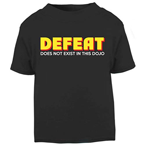 Kind Cobra Kostüm Kai - Cobra Kai Fear Pain and Defeat Do Not Exist In This Dojo Baby and Toddler Short Sleeve T-Shirt