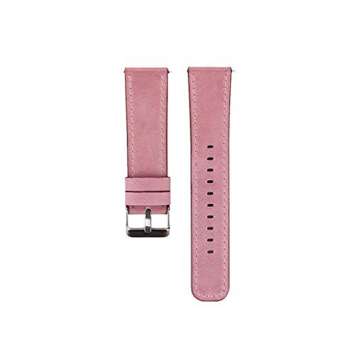 Austauschbares Lederarmband für Fitbit Versa/Versa Lite Ultra-dünnes Männer Frau Premium-Lederarmband für Damen Uhrarmband Wuqy - Und Baume Band Mercier Uhr