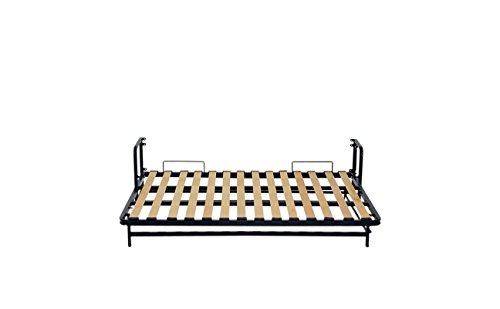 Wallbedking Classic WANDBETT (Quer) King Size 160×200 (Klappbett, Schrankbett, Gästebett, Funktionsbett) 160cm x 200cm - 6
