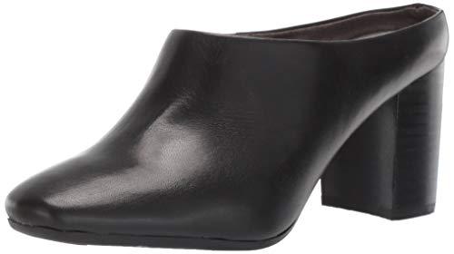 Aerosoles Damen CAST Stone Turnschuh, schwarzes Leder, 39 EU - Aerosoles Schwarze Stiefel