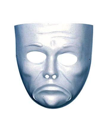 Horror-Shop Weiße Gesichts Maske -