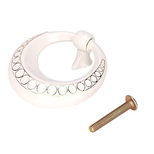 Ringe Schrank Schublade Zieht (Ringgriff, Europäischer Einlochring Kreisgriff Schubladenschrank Kleiderschrank Türgriff Möbelgriffe)