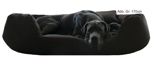 tierlando® S5-03 SAMMY Extra ROBUST Hundesofa Hundebett Gr. XXL 140cm Schwarz - 2