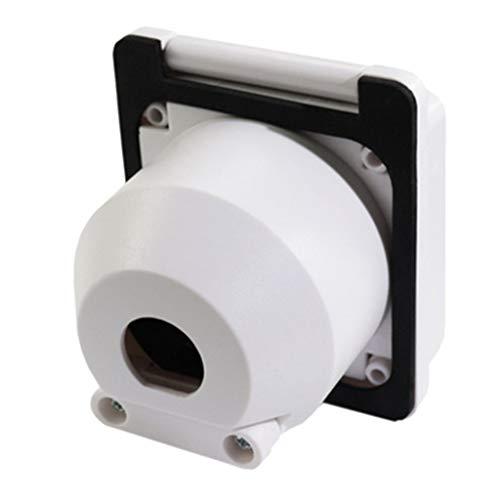 F Fityle 1 Stück Netzstecker Twist Lock Einlass 30A Ampere, 125 V Hochleistungssteckdose. -