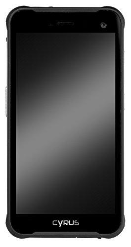 Cyrus CS22 XCITED Outdoor Smartphone, 4000 mAH Akku, Android 7.0 Nougat, 5 Zoll, 16 GB, Dual SIM, 8 MP Kamera, stoßfest, staubdicht, wasserdicht, schwarz