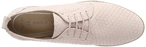Marco Tozzi Premio Damen 23725 Oxfords Pink (Rose Structure)