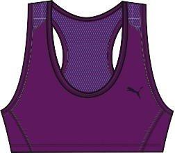 Puma - Sujetador Deportivo de Atletismo para Mujer