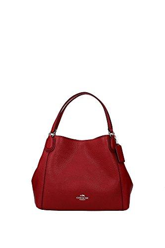 borse-a-mano-coach-donna-pelle-rosso-e-argento-35983svde3-rosso-11x24x28-cm