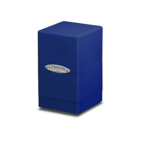 Ultra Pro DECKBOX Satin Tower C6 Card Game (Blue)