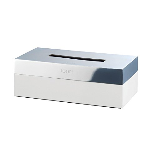 JOOP Bathroom - Chromeline - Kleenexbox - Chrom / Weiß