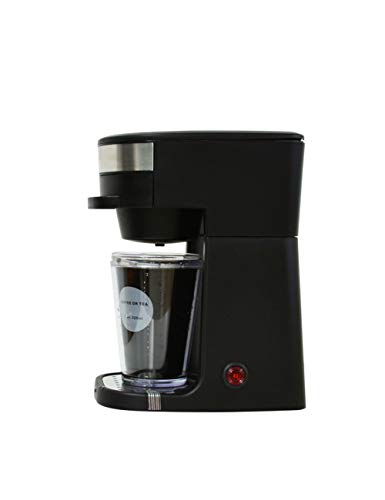 DTBA Cafetera De Goteo Eléctrica Mini Cafetera Espresso Automática Latte Tetera Caldera Polvo Café Té Steam Brewing Pot Machine UNA