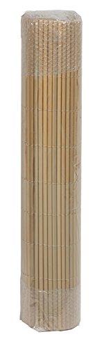 Floraworld 011202Privacy/Balcone Travestimento Comfort, Effetto di bambù, 300x 1x 90cm