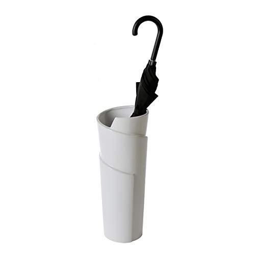 Casablanca - Schirmständer/Vase Swing Keramik weiß glasiert mit Kunststoff-Topf innen - Europäische Herstellung - - Swing Vase