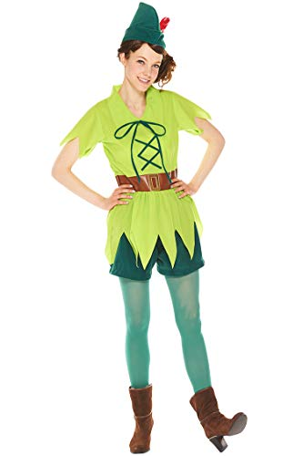 Disney Peter Pan-Kostuem-Damen 155cm-165cm ()