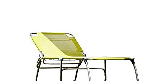 74 Cm largeur 3 pieds en aLUMINIUM 5,9 kg - 40 cm de grande piscine plage sauna terrasse bain de soleil chaise longue trois pieds jANKURTZ 207 x 74 cm-hauteur : 40 cm-couleur : gris-pistache sTABIELO charge maximale : 120 kg-dISTRIBUTION-holly ® produits sTABIELO contre supplément avec holly fÄCHERSCHIRMEN sur demande-holly-sunshade ®-innovation fabriqué en allemagne
