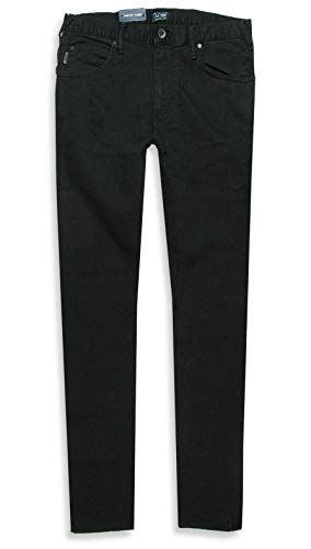 Armani Herren Jeans J45 Slim Fit schwarz Denim/Elasthan