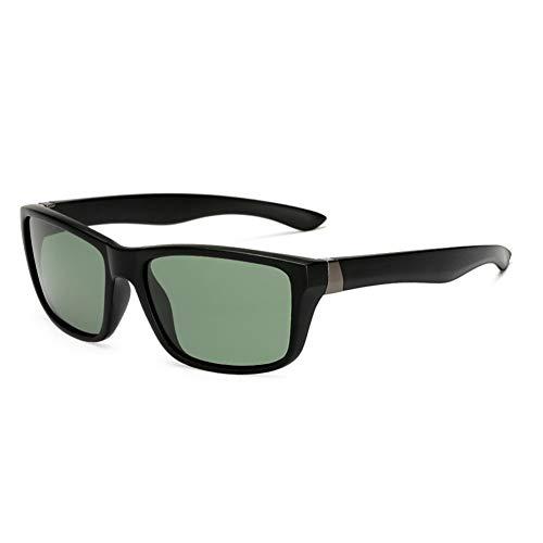 YOURSN Männer Gläser Hd Polarisierte Linse Sonnenbrille Männer Polarisierte Sonnenbrille Vintage Matte Black Frame Driving Brillen-Green - Frame Green Matte