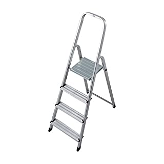 Krause 000705 Stufen-Stehleiter Aluminium max. Arbeitshöhe 2.80 m