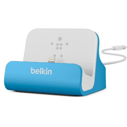 Belkin Lightning Lade/Sync-Dockingstation (mFI-zertifiziert, incl 1,2m USB-Kabel,
