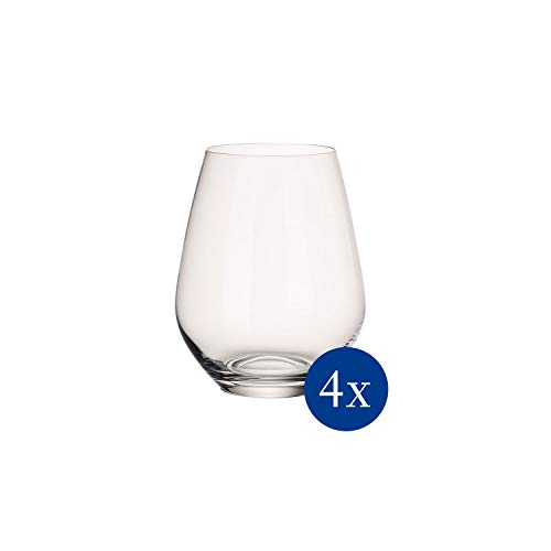 Villeroy & Boch 11-7209-8140 Ovid Wasserglas-Set, Kristallglas, 4-teilig
