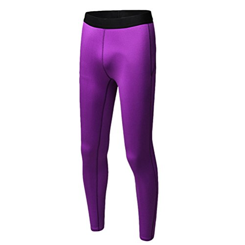 Zhhlaixing Women Ladies Fleece Lined Sports Pants Running Yoga Gym Workout Tights Leggings for Winter purple