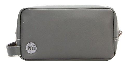 Mi-Pac Gold Travel Kit Trousse de Toilette, 23 cm, Gris(Rubber Grey)