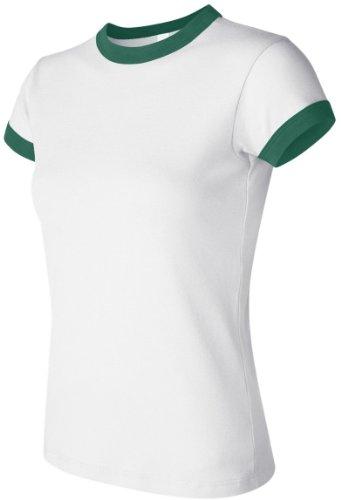 Bella Damen One-Shoulder 1007 White/Kelly