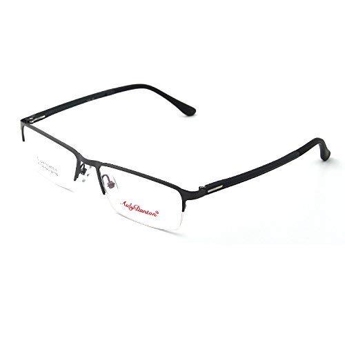 SCJ Vogue großes Gesicht Brillengestell Mann die Halbformat Brillen quadratischen Rahmen Brille für Nahsicht-Geschäft der Mann kann mit Nahsicht zusammen gehen