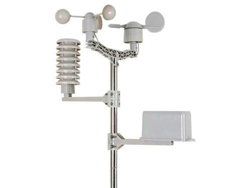 VELLEMAN - WS1080 Funk-Wetterstation, Touch-Screen mit Zubehör, 233 mm x 145 mm x 33 mm Maße 406062