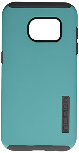 Samsung Galaxy S7 case, Incipio DualPro, Hard Shell Case with Impact-Absorbing Core Shock-Absorbing Impact-Resistant Dual-Layer Cover - Teal/Gray  available at amazon for Rs.3722
