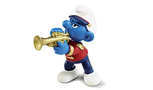 Imagen principal de Pitufo trompetista