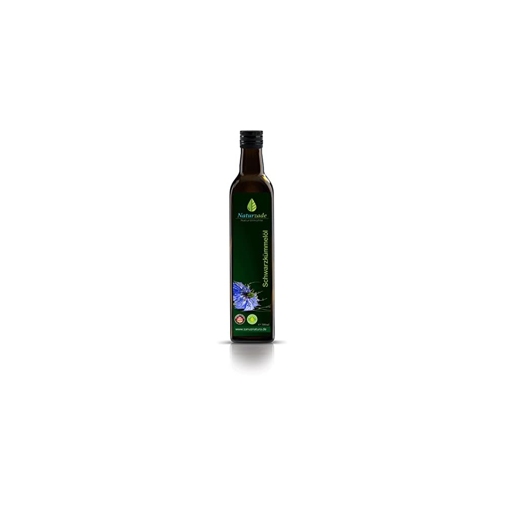 Naturzade Schwarzkmmell 500ml Ungefiltert Glasflasche