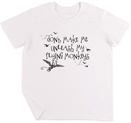 Wizard of Oz Inspired - Dont Make Me Release My Flying Monkeys Kinder Jungen Mädchen Unisex T-Shirt ()