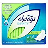 Always Infinity Heavy Flow Pads With Flexi-Wings -16