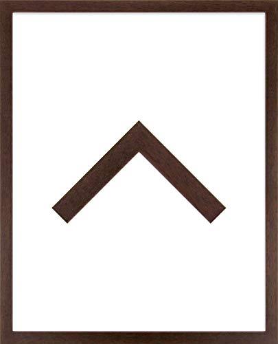 RahmenMax Massivholz-Leerrahmen THURGAU für Canvas- BZW. Keillrahmenbilder im Format 29 x 39 cm. Hier: Massivholz Braun. Erhältlich in vielen Größen und Farben. Maßanfertigung möglich.