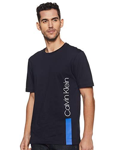 Calvin klein k10k103960 407 blu t-shirt uomo uomo blu l
