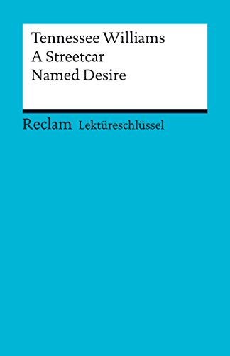 a literary analysis of a street car named desire by tennessee williams Explore the ways in which a feminist critic might interpret tennessee williams a streetcar named desire, with a particular focus on the female characters since the woman s movement in the 1960 s, feminist literary critics have been interested in the way canonical literature represents women in society.