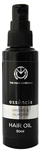 The Man Company Argan and Almond Oil for Hair Fall Prevention, 50 ml